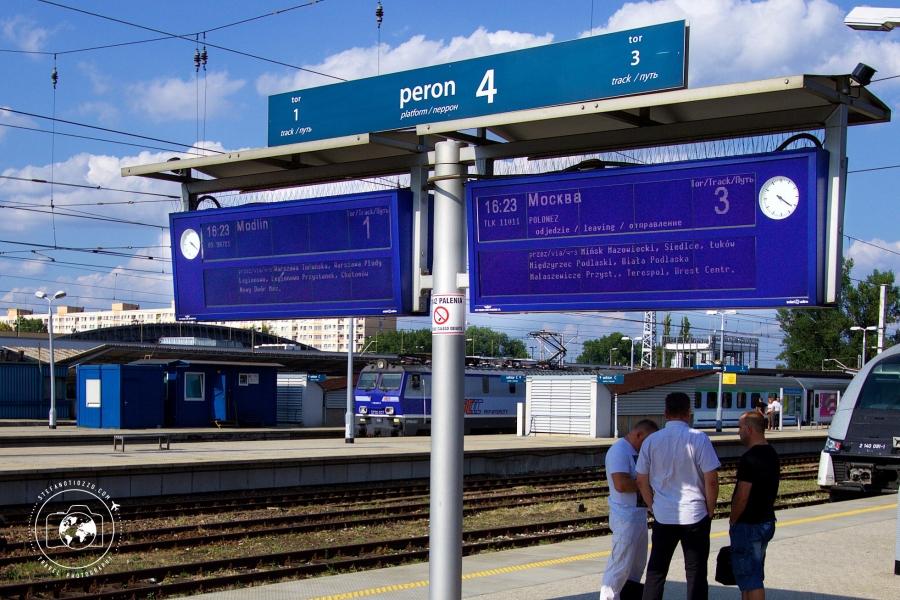 Torino – Pechino: il treno Varsavia – Mosca