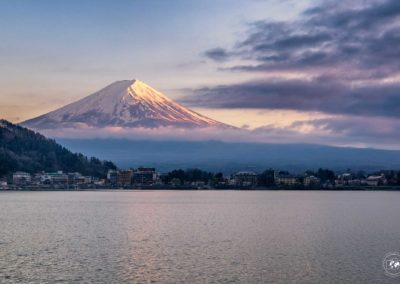 Fuji-Sunset