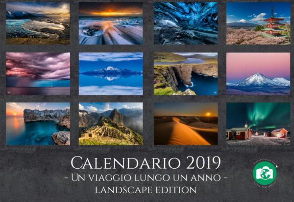 Calendario 2019 Stefano Tiozzo - Landscape edition