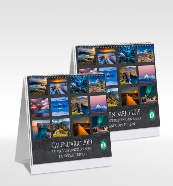 Coppia calendari da tavolo 2019 - Stefano Tiozzo